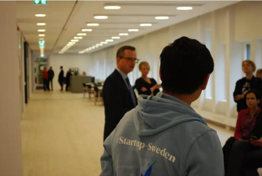 En av tio till Startup-Swedens andra Bootcamp